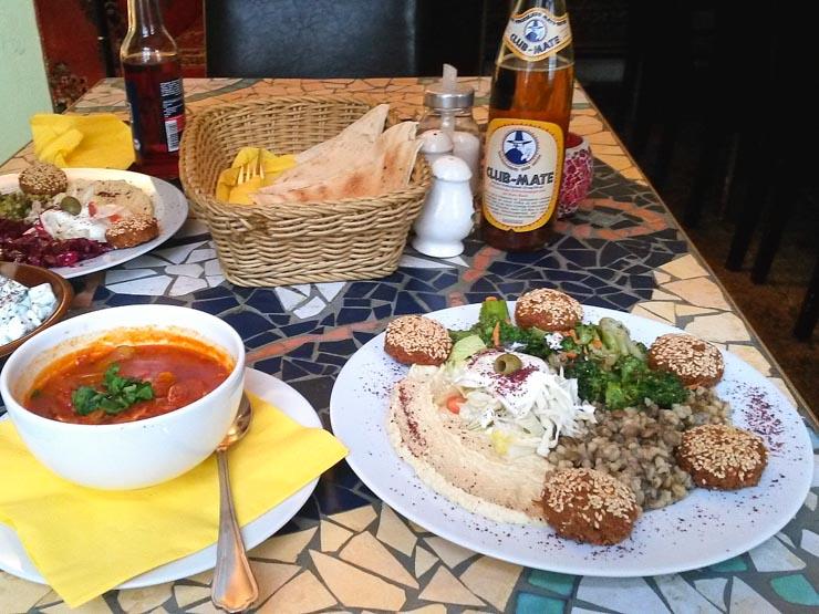 Die besten Falafel in Hamburg - Das Azeitona - vegetarisch Hamburg