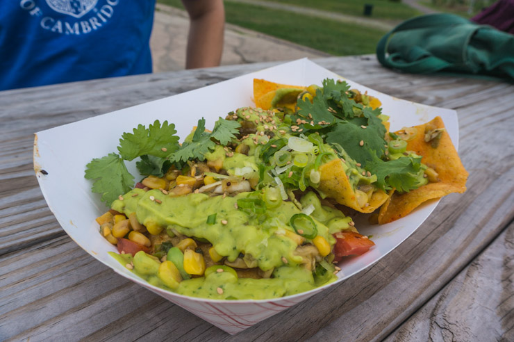 A Brooklyn Flea Food Market - Guacamole - vegan New York