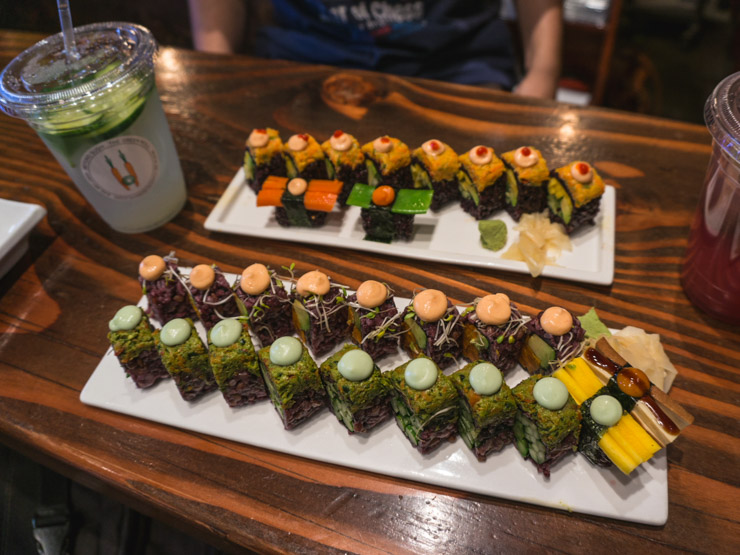 Beyond Sushi - vegan essen in New York