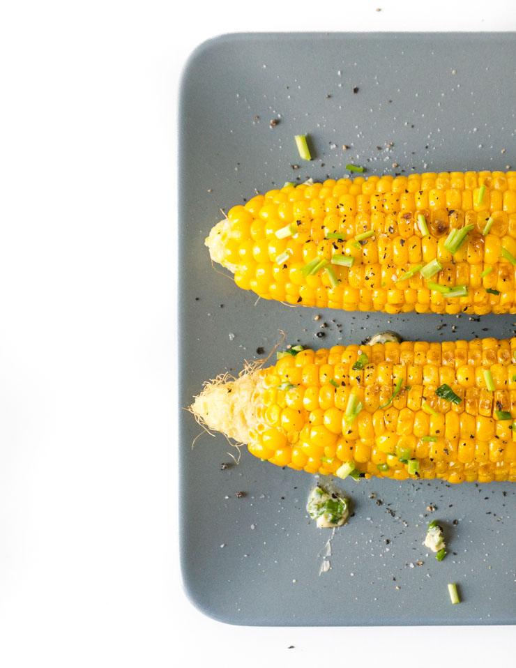 gegrillte Maiskolben - The Vegetarian Diaries