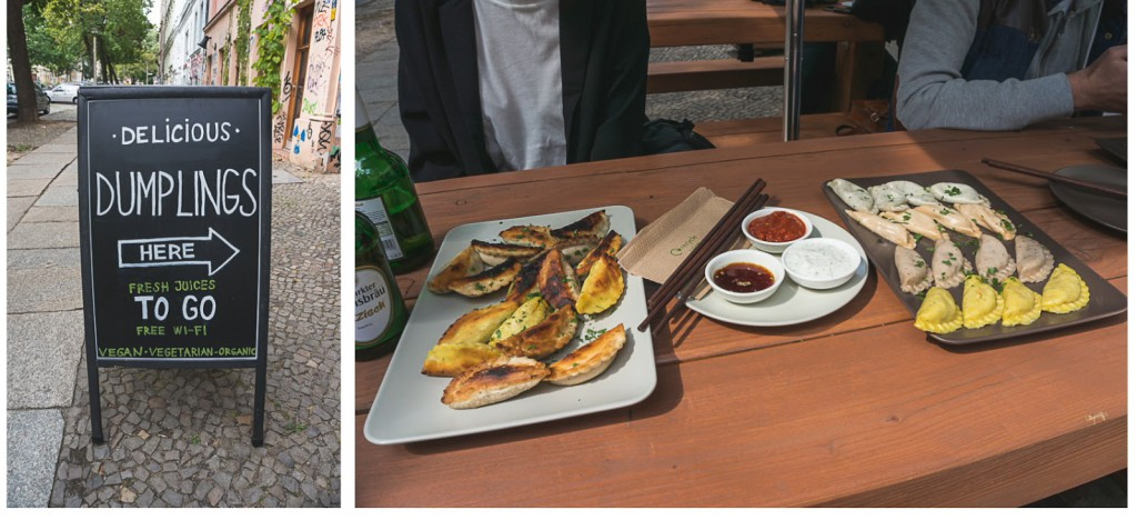 die besten vegan / vegetarischen Teigtaschen in Berlin: Das Momos