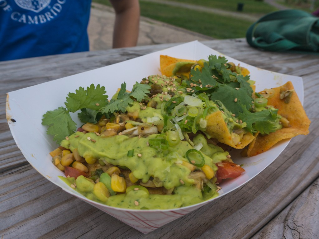 vegan Nachos with Guacamole New York