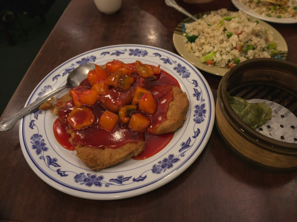 Vegetarian Dim Sum House in New York Chinatown