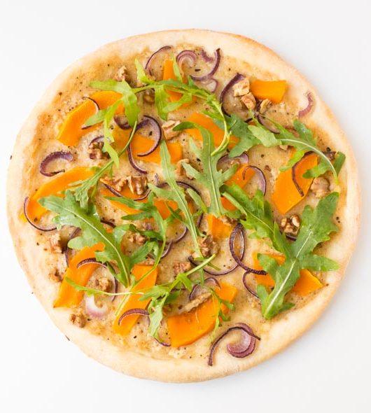 Kürbis-Pizza - The Vegetarian Diaries