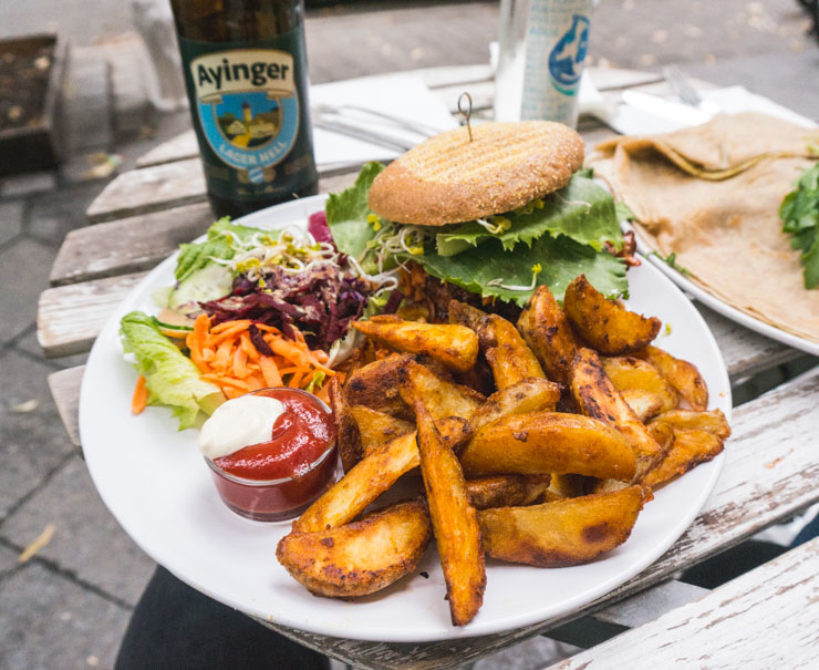 vegane Burger - Let it Be - Berlin -The Vegetarian Diaries
