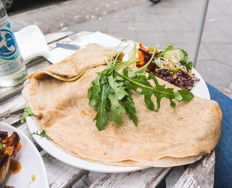 vegane Crepes - Let it Be - Berlin -The Vegetarian Diaries