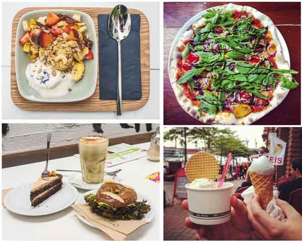 Die besten veganen, vegetarischen Restaurants in Hamburg - Eine Zusammenfassung