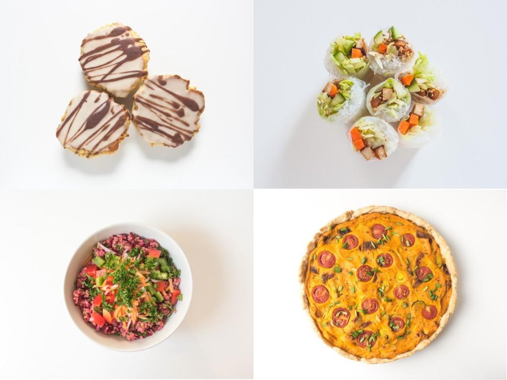 vegane snacks fingerfood und mehr zu silvester the. Black Bedroom Furniture Sets. Home Design Ideas