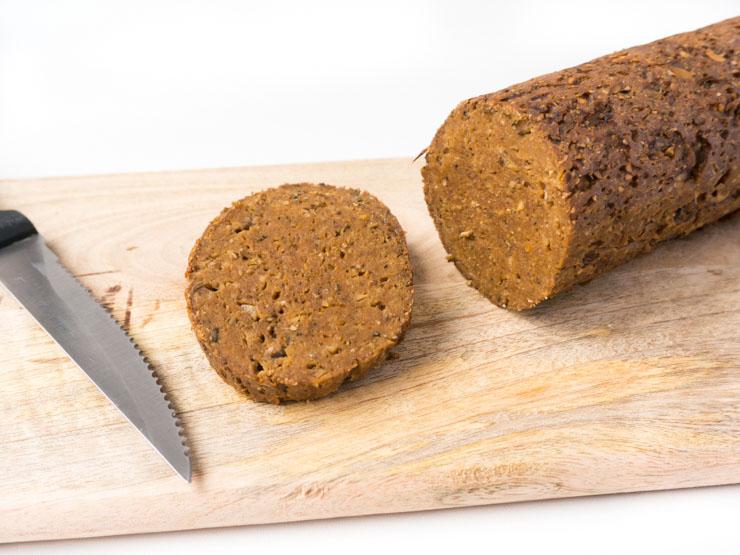 veganer Braten auf Seitanbasis - The Vegetarian Diaries