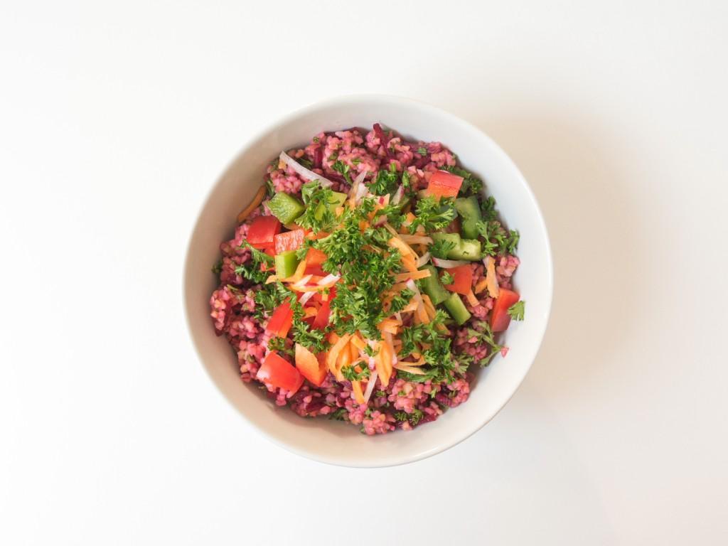 veganes Taboulé mit Bulgur