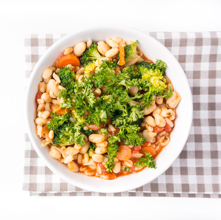 Eintopf mit Ebly - The Vegetarian Diaries