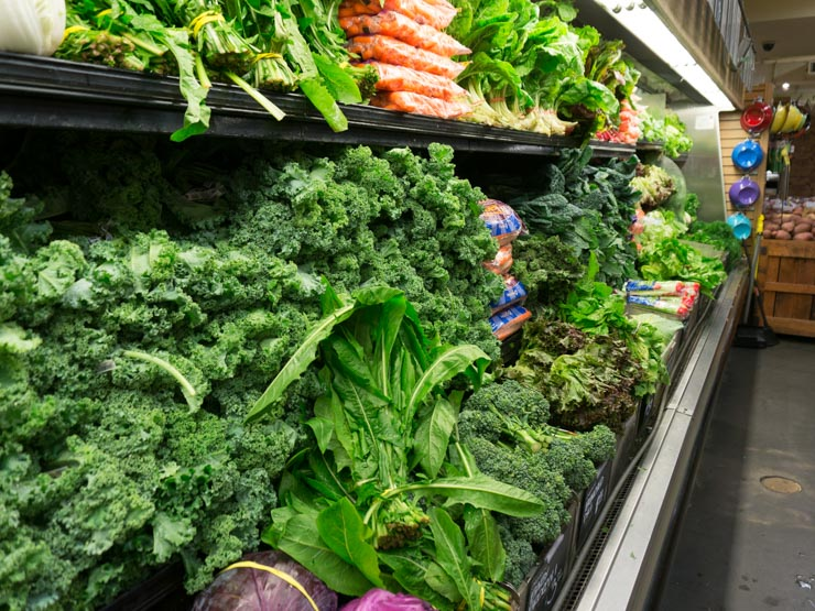 Gemüse bei Wholefoos Washington D.C. - The Vegetarian Diaries