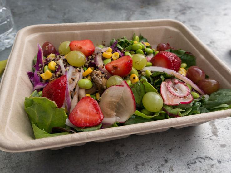 Salat bei Wholefoos Washington D.C. - The Vegetarian Diaries