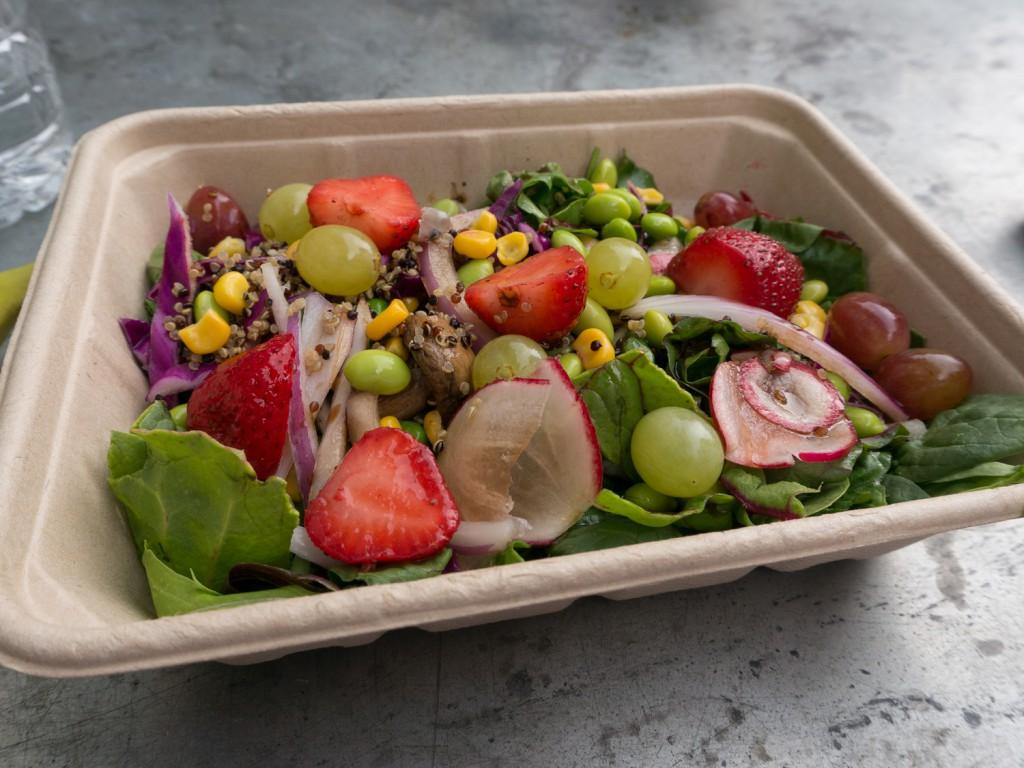veganes Essen im Wholefoods