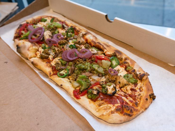 vegane Pizza in Washington D.C. - The Vegetarian Diaries