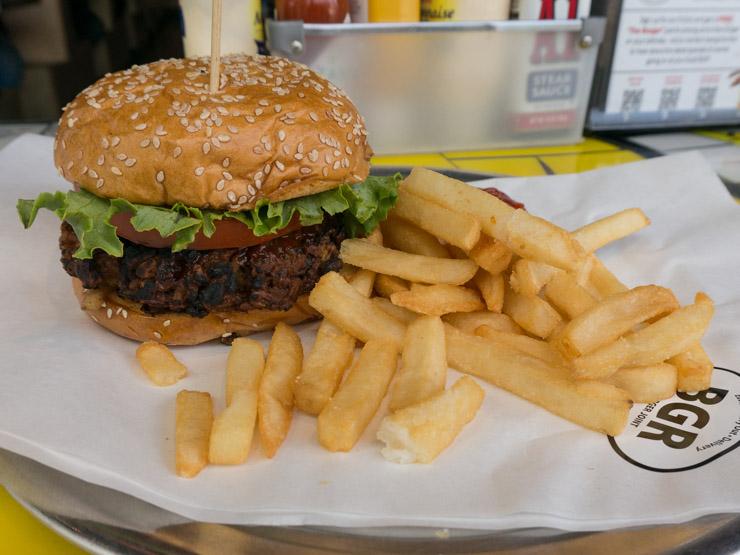 veganer Burger Washington D.C. - The Vegetarian Diaries