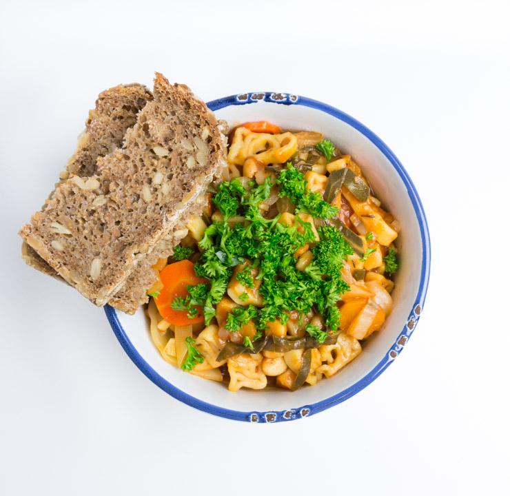 Eintopf mit Mangold - The Vegetarian Diaries