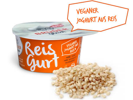 Reisgurt - veganer Joghurt - The Vegetarian Diaries