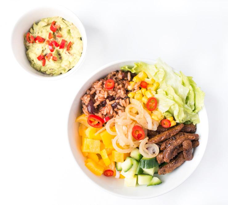 vegane Burrito-Bowl - The Vegetarian Diaries