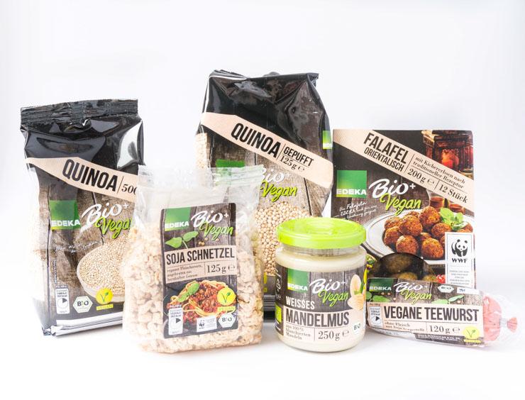 Edeka Bio vegan+ - Produkte