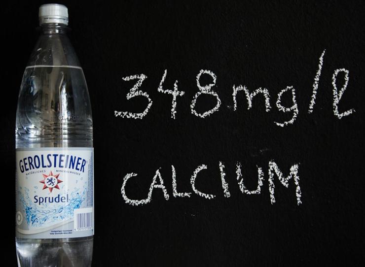 Calciumhaltiges Mineralwasser von Gerolsteiner - The Vegetarian Diaries
