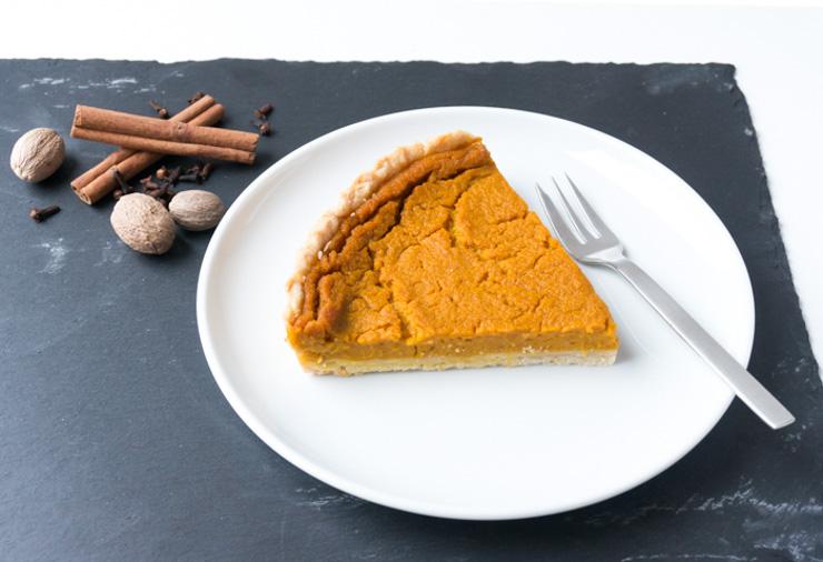 Kürbiskuchen vegan - Pumpkin Pie