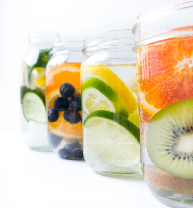 infused water - einfache Rezepte