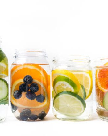 vier einfache infused Water Rezepte - selbst gemacht - The Vegetarian Diaries
