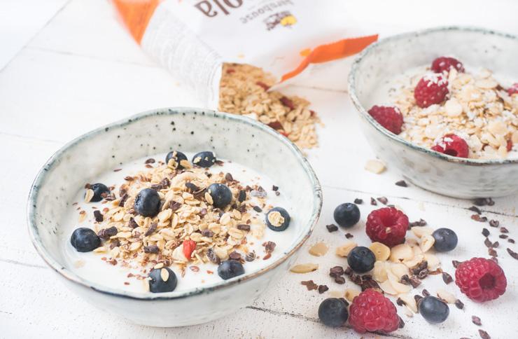 Granola Barnhouse - veganes Müsli zum Frühstück - The Vegetarian Diaries