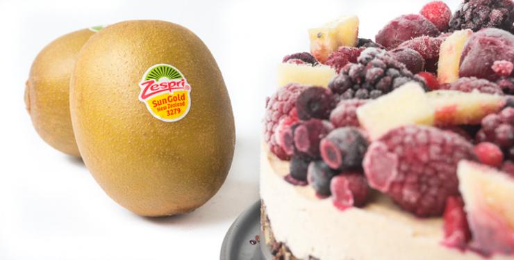 Rezept mit Zespri SunGold Kiwis - roh und vegan - The Vegetarian Diaries