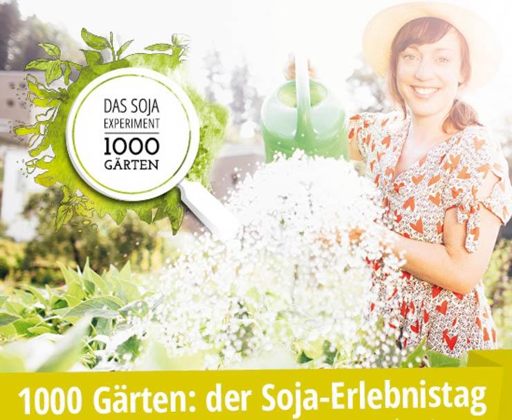 Soja Erlebnistag - Prinzessinengarten Berlin - Taifun