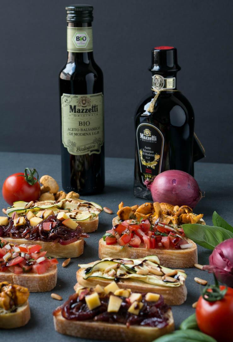 veganer Balsamico von Mazzetti - Bruschetta - The Vegetarian Diaries
