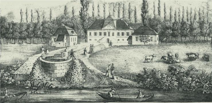 Fachinger Quelle im Jahr 1834 - The Vegetarian Diaries