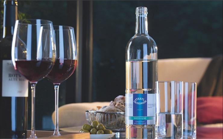 Wasser und Wein - Staatl. Fachingen - The Vegetarian Diaries
