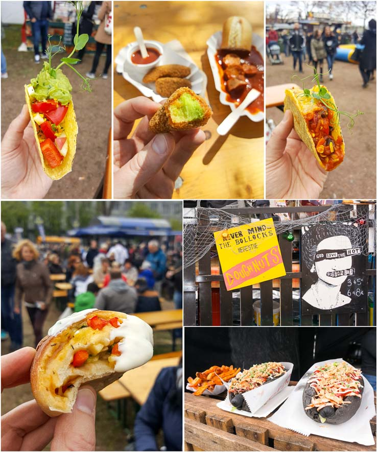 Street Food Market Leipzig - The Vegetarian Diaries