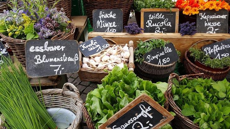 Vielfalt regionaler Lebensmittel - The Vegetarian Diaries