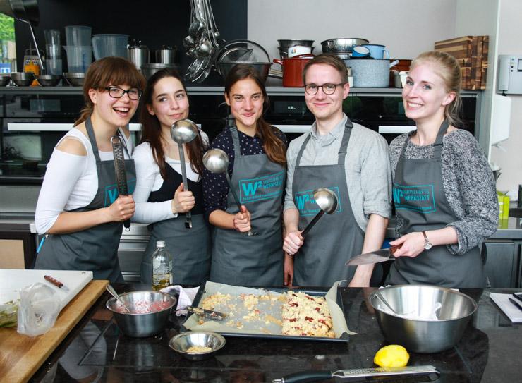 Kochwettkampf - Gewinnerteam - The Vegetarian Diaries