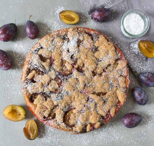 Zwetschgenkuchen mit Mohn - The Vegetarian Diaries