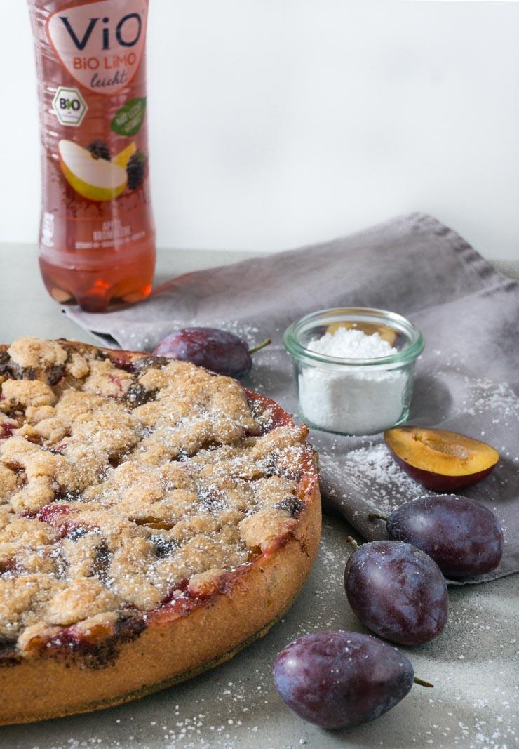 Zwetschgenkuchen mit ViO-Limonade - The Vegetarian Diaries