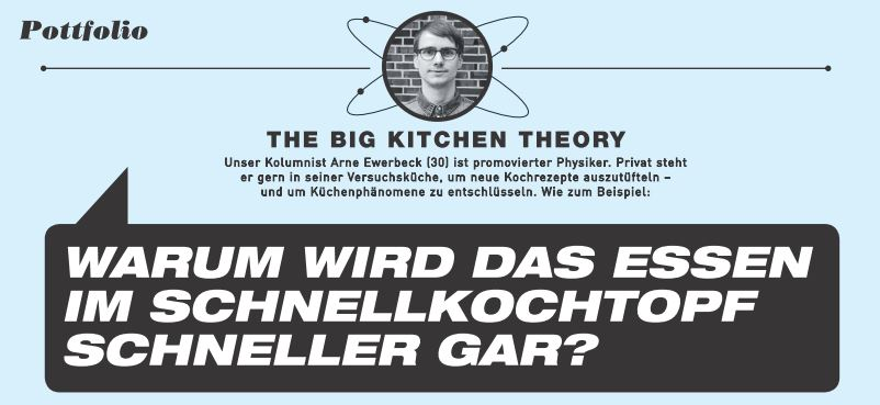 Mutti - The Big Kitchen Theory Kolumne - Arne Ewerbeck