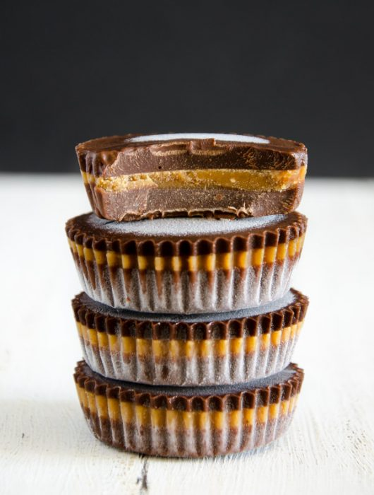 Peanut Butter Chocolate Cups - The Vegetarian Diaries