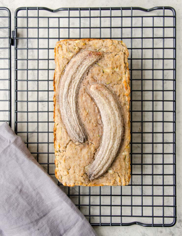 Zucchini-Bananenbrot - The Vegetarian Diaries