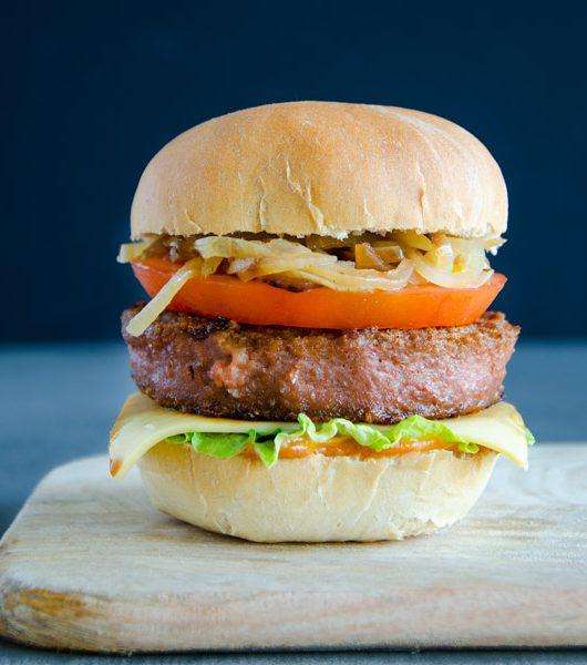 Beyond-Meat Burger - fleischlos - The Vegetarian Diaries