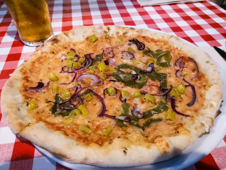 vegane Pizza in Barcelona - Pizza Paco