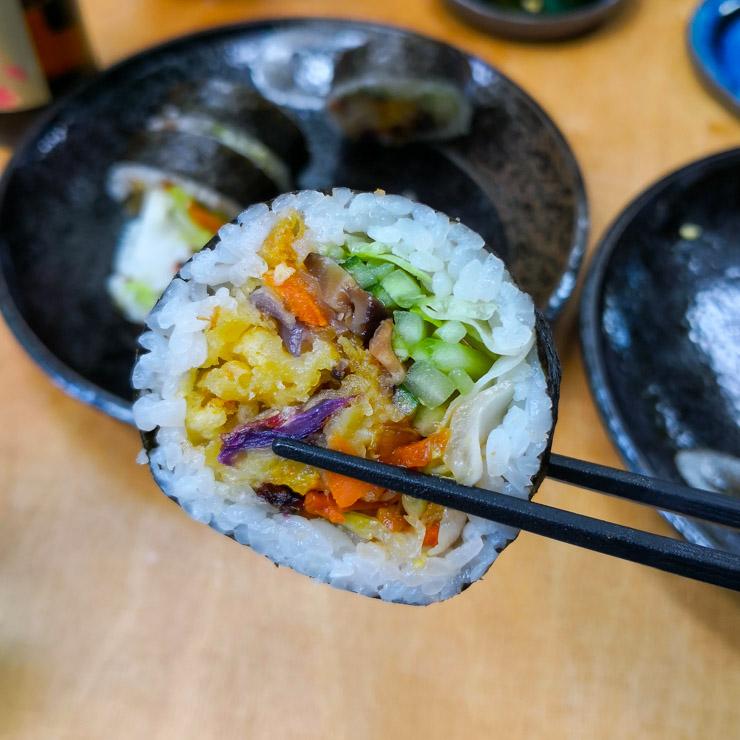 Warschau Youmiko Vegan Sushi - The egetarian Diaries
