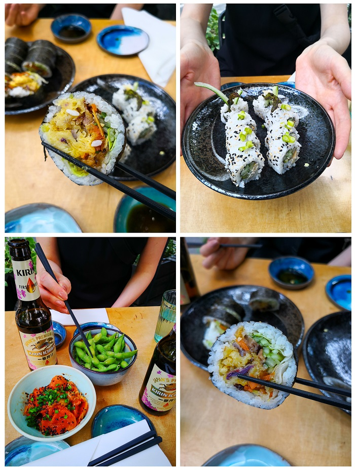 Youmiko Vegan Sushi Warschau - The Vegetarian Diaries