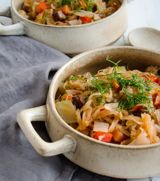 veganes Bigos - The Vegetarian Diaries