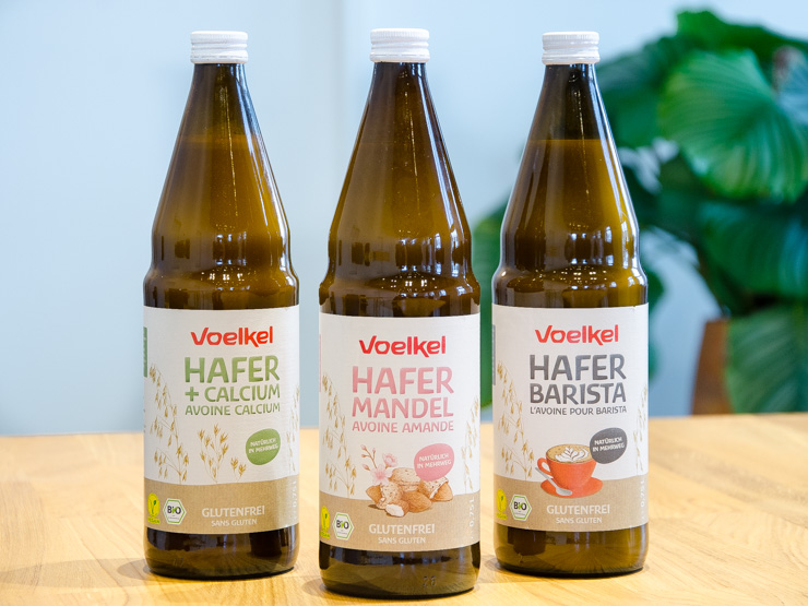 Voelkel Pflanzendrinks - Pfandflasche