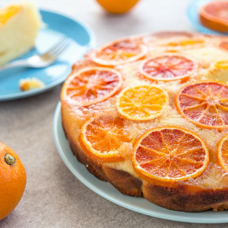 gestuerzter Orangenkuchen - The Vegetarian Diaries